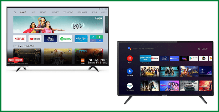 Best Smart TV Under 30000 in India 2021