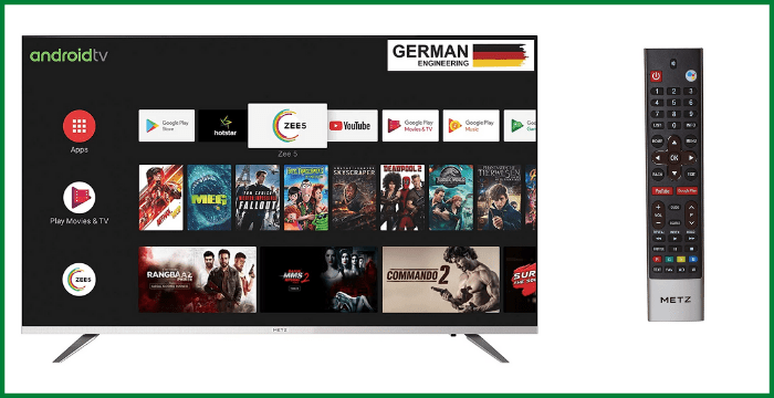 METZ 81 cm (32 inches) HD Ready Certified Android Smart LED TV M32E6